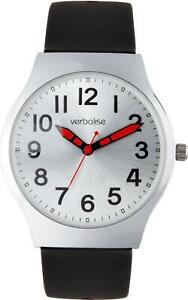 Verbalise Ladies Dual Strap Silver Dial Easy to See Watch VEC-15