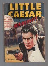 LITTLE CAESAR W.R. Burnett 1st Print 1945 Avon 66 Paul Stahr Gangster Gun Cover!