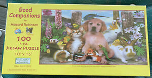 GOOD COMPANIONS HOWARD ROBINSON 100 PIECE PUZZLE NEW  SUNSOUT  ECO-FRIENDLY
