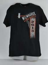 Milwaukee 110th Anniversary Bike Rally 2013 Black Short Sleeve Large Tshirt