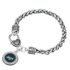 New York Jets Bracelet - Silver New York Jets NFL Bracelet & Jets Jewelry
