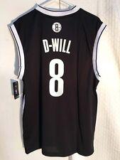 Adidas NBA Jersey Nets Deron Williams Black Nickname sz S