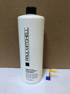 Paul Mitchell Firm Style Freeze and Shine Super Spray Liter Size/33.8 Oz, FRESH