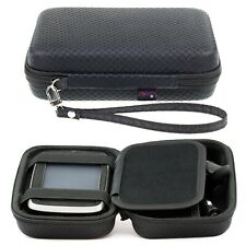 Black Hard Case For TomTom Go 61 6'' Sat Nav With Accessory Storage