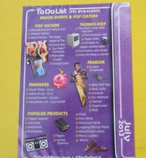 THE TO DO LIST MOVIE PROMO THE TO-DO LIST AUBREY PLAZA 1993 AT-A-GLANCE CARD