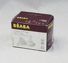 NR.1 Age x2 Beaba Sauger Babyfläschensauger 3m +  (D38G4)