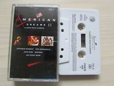 AMERICAN DREAMS VOL II CASSETTE 14 GREAT ROCK CLASSICS, JIMI HENDRIX ETC: TESTED