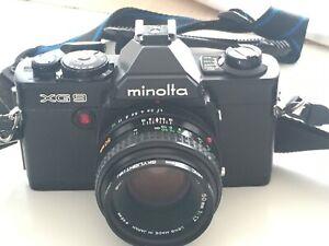 Minolta XG 9 SLR 35mm Camera With Minolta 50mm f1.7 Lens
