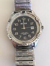 Working Men's Silver Benrus Quartz Watch    AO