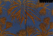 Donghia Official: Triffid in Sea Blue, Sold by the Yard - 62 yds available