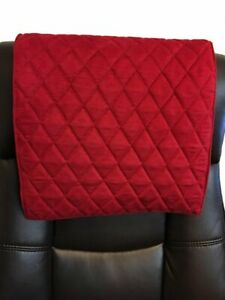 """14""""x 30"""" RED SUEDE Recliner, leather damage, sofa, arm rest, furniture protector"""