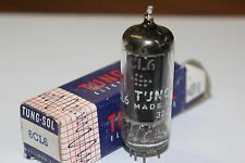 6CL6 TUNG-SOL VINTAGE TUBE WITH BLACK PLATES - NOS IN BOX