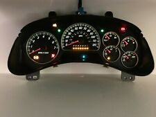 06-09 GMC Envoy Speedometer Instrument Gauge Cluster REBUILT
