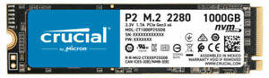 NEW SEALED Crucial P2 1TB 3D NAND NVMe PCIe M.2 SSD Up to 2400MB/s CT1000P2SSD8