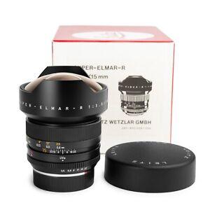 "Leica 15mm f3.5 Super-Elmar-R 3-cam Leitz Lens ""MINT in BOX!"""