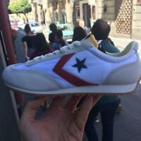 Converse All Star Trainer 154538 ox  modello auckland in tela estate 2019 bianco