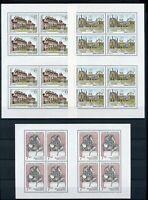 Tschechoslowakei Kleinbögen MiNr. 3126-28 postfrisch MNH (C865