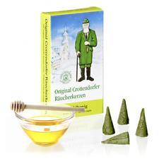 24  Räucherkerzen    Waldhonig   Original Crottendorfer Gr. M  Räucherkegel