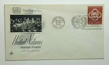1951 FDC United Nations First Day of Issue New York Postmark Artcraft $1 Justice