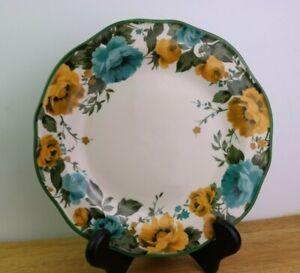 """Pioneer Woman ROSE SHADOW Floral Dinner Plate (s) 10 1/8 """""""