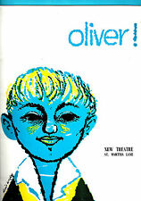 "Georgia Brown ""OLIVER"" Ron Moody / Lionel Bart 1960 London Souvenir Program"
