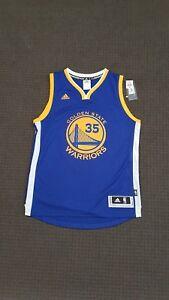 Brand New Adidas Golden State Warriors Kevin Durant Jersey Size Medium