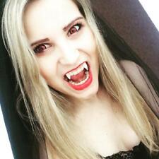 Secaden 3 Pairs Vampire Teeth Fangs Dentures Cosplay Props Halloween Costume...