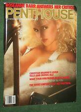Penthouse Dec 1990 POM Diana Van Laar Christian Brando Roseanne Barr interview