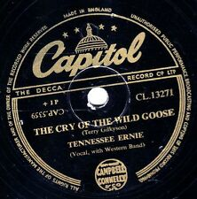 ERNIE FORD 78 ANTICIPATION BLUES / THE CRY OFTHE WILD GOOSE CAPITOL CL 13271 EX