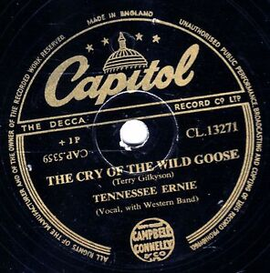 ERNIE FORD 78 ANTICIPATION BLUES / THE CRY OFTHE WILD GOOSE CAPITOL CL 13271 E-