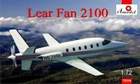 Amodel 72310 - 1/72 Lear Fan 2100 Aircraft, scale plastic model kit