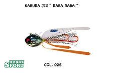 """KABURA JIG """" RABA RABA"""" n 12 colore 02S  45 gr OFFERTA - 40%"""