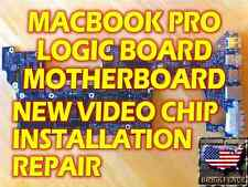 MACBOOK PRO A1226 A1260 A1261 A1229 LOGIC BOARD REPAIR NEW CHIPSET GPU INSTALL
