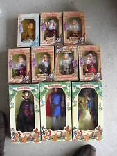 RARE Set 10 Bikin Disney Snow White & Dwarfs Dolls MIB