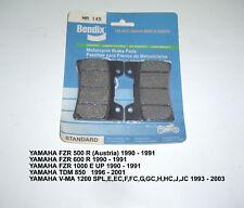 YAMAHA VMAX FZR1000 YZF600 BENDIX DISC BRAKE PADS MA145 NEW