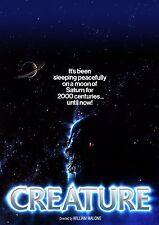 Creature (1985) (DVD) (Widescreen) Klaus Kinski, Lyman Ward Horror-Sci-Fi