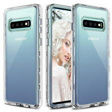 For Samsung Galaxy S10 Plus/S10e/S10 Shockproof Hybrid Clear TPU+PC Case Cover
