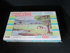 1x Sealed NOS Vintage Saalfield A Challenge Picture Puzzle THE DAILY RIDE Horse