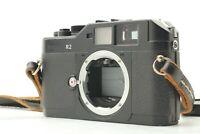 [OPTICAL MINT] Voigtlander BESSA R2 BLACK Rangefinder 35mm Camera From JAPAN