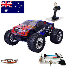 Rc 1/10 Scale RC Car 4wd Nitro Power Off Road Rock Crawler Monster Truck & 80142