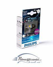 LAMPADINE AUTO TARGA INTERNO PHILIPS LED 38mm 6000K Daylight Effect 128596000KX1