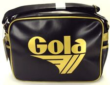 Gola Classic Retro Black/Gold Messenger Bag