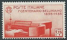 1935 REGNO BELLINI 1,75 LIRE MNH ** - Y192