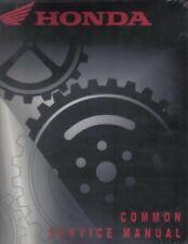Honda Common Service Manual – Atv Motorcycle Scooter Repair : 61Cm002