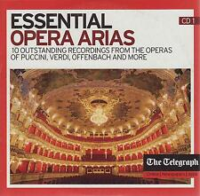 ESSENTIAL OPERA ARIAS - 2 PROMO CDs (2011) MOZART VERDI PUCCINI DONIZETTI BIZET
