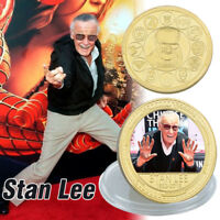 Remember Stan Lee's Captain Marvel Outstanding Master Collection Coin Fan Gifts
