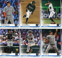 2019 Topps Complete (Series 1 & 2) Miami Marlins Team Set of 21 Cards