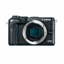 Canon EOS M6 EF-M Digital Camera Black Body Only Multi Authenti