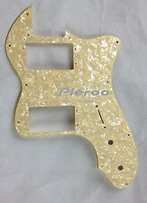 For Classic telecaster 72 thinline Guitar Pickguard ,Cream Pearl 4 PLY