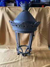 Very large antique french Paris street lantern